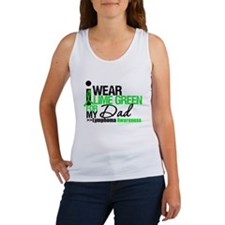 I Wear Lime Green For My Dad Women's Tank Top
