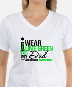 I Wear Lime Green For My Dad Shirt