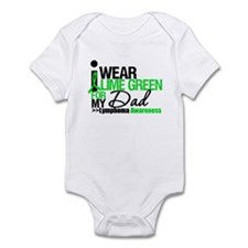I Wear Lime Green For My Dad Infant Bodysuit