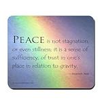 Peace Rainbow Mousepad