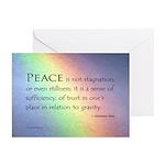 Peace Rainbow Greeting Cards (Pk of 20)