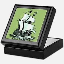 Mayflower Keepsake Box