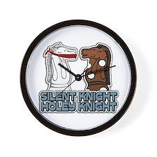 Silent Knight Holey Knight Wall Clock
