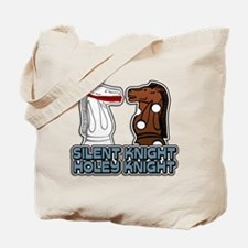 Silent Knight Holey Knight Tote Bag