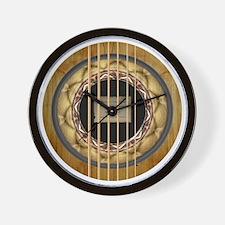 The Earthtone Mandala Wall Clock