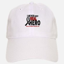 Never Knew A Hero 2 MELANOMA (Momma) Baseball Baseball Cap