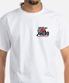Never Knew A Hero 2 MELANOMA (Momma) Shirt