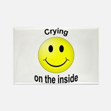 Crying Rectangle Magnet