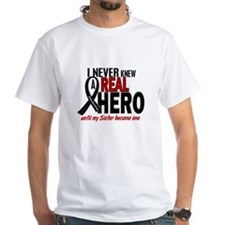 Never Knew A Hero 2 MELANOMA (Sister) Shirt