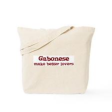 Gabonese Make Better Lovers Tote Bag