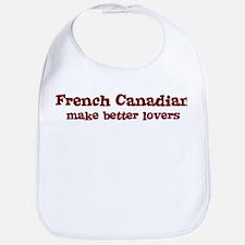 French Canadian Make Better L Bib