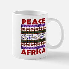 Africa Peace Mug