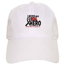 Never Knew A Hero 2 MELANOMA (Father-In-Law) Baseball Cap