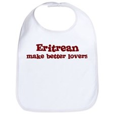 Eritrean Make Better Lovers Bib