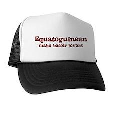 Equatoguinean Make Better Lov Trucker Hat
