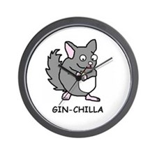 Unique Chinchillas Wall Clock