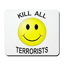 Kill Terrorists Mousepad