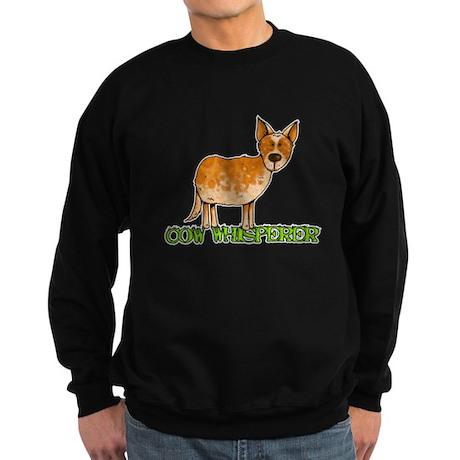 cow whisperer Sweatshirt (dark)