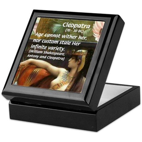 Antony and Cleopatra Keepsake Box