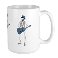 Bluesman Skeleton Mug