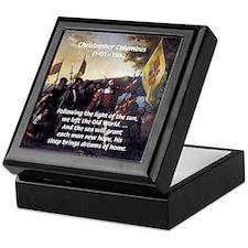 Christopher Columbus Keepsake Box