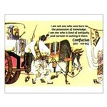Eastern Thought: Confucius Small Poster