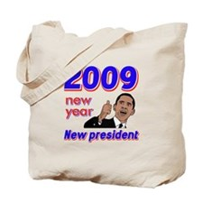 New year New President Tote Bag