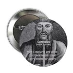Eastern Wisdom: Confucius Button