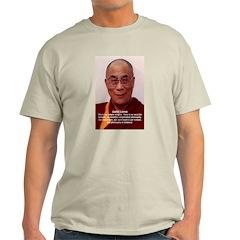 His Holiness the Dalai Lama Ash Grey T-Shirt