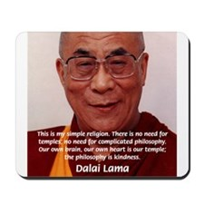 His Holiness the Dalai Lama Mousepad
