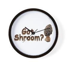 Got Shroom? Wall Clock