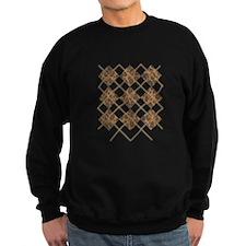Leopard Argyle (Stitched) Sweatshirt