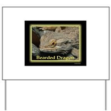Bearded Dragon Neon Yard Sign