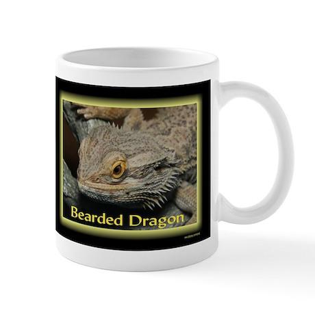 Bearded Dragon Neon Mug