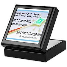 Cure My Cat Keepsake Box