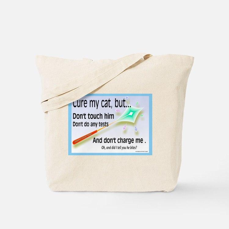 Cure My Cat Tote Bag