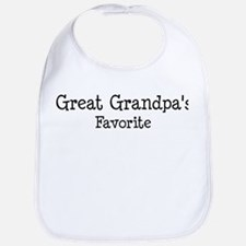 Great Grandpa is my favorite Bib