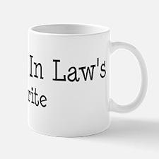 Daughter In Law is my favori Mug