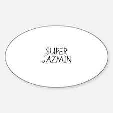 Super Jazmin Oval Decal