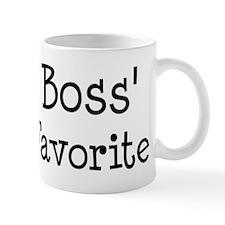 Boss is my favorite Mug