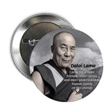 The 14th Dalai Lama Button
