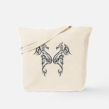 Celtic Dragons Tote Bag