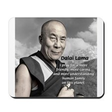 The 14th Dalai Lama Mousepad