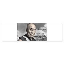 The 14th Dalai Lama Bumper Bumper Sticker