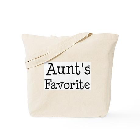 Aunt is my favorite Tote Bag