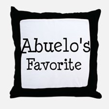 Abuelo is my favorite Throw Pillow