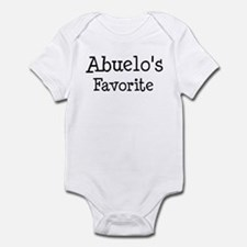 Abuelo is my favorite Infant Bodysuit