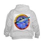 Official UFO Hunter Color Kids Hoodie