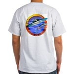 Official UFO Hunter Color Ash Grey T-Shirt