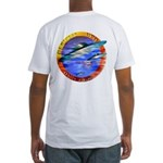Official UFO Hunter Color Fitted T-Shirt